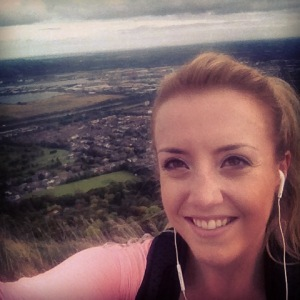This is me at the top of Cavehill in Belfast, halfway through a 15.5Km run during my half marathon training.