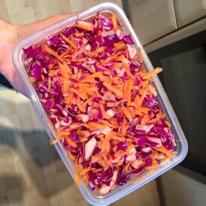 Pink and Purple Slaw