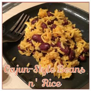 Cajun-Style Beans and Rice