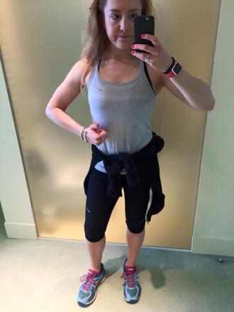 Croatia Gym Selfie